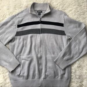 Kenneth Cole zipper sweater
